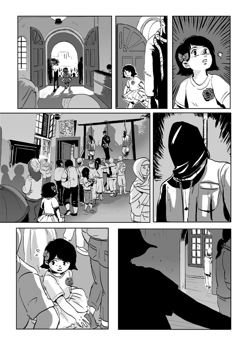 horror comic collab by jinguj