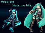 Hatsune Miku Vocaloid Wall
