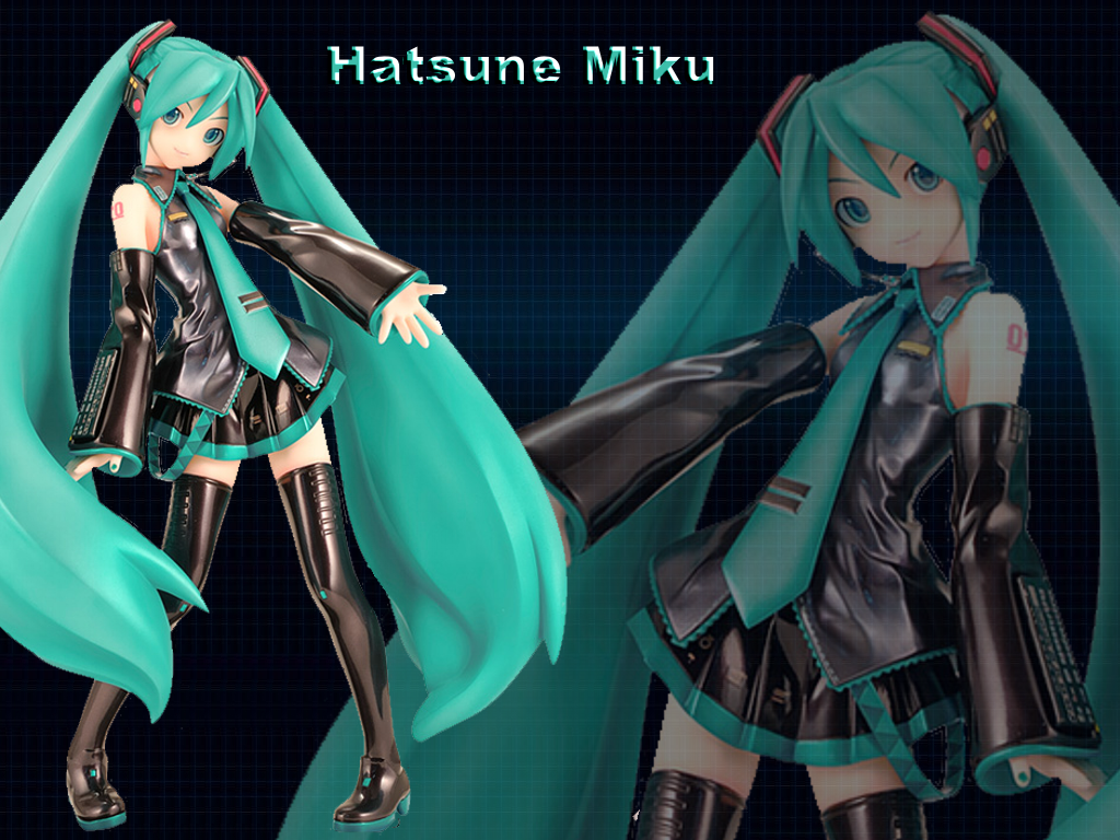 Hatsune Miku Wallpaper ver. 2 by Asukatze