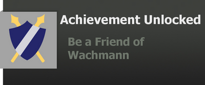 Achievement: Wachmann by WolfProduction