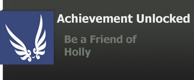 Achievement: Holly by WolfProduction