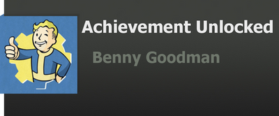 Achievement: Benny Goodman by WolfProduction