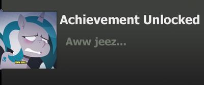Achievement: Aww jeez by WolfProduction