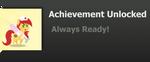 Achievement: Always Ready! by Tamani-Wolf