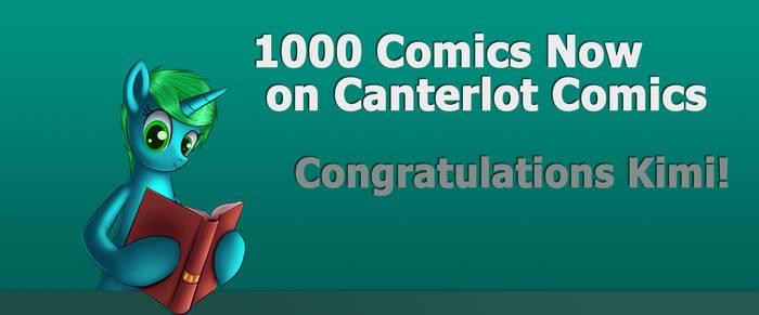 1000 Comics on Canterlot Comics!