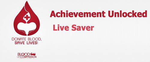 Achievement: Live Saver