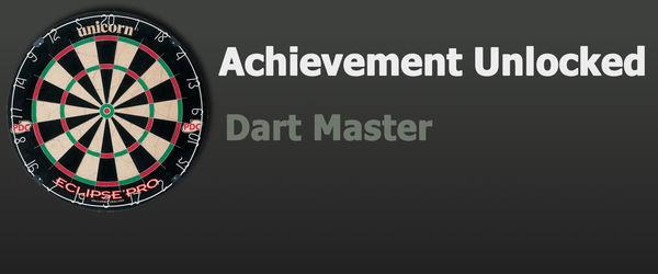 Achievement: Dart Master