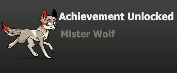 Achievement: Mr. Wolf
