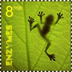 Enzymes stamp by poleev