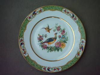 Objects (painted dish).
