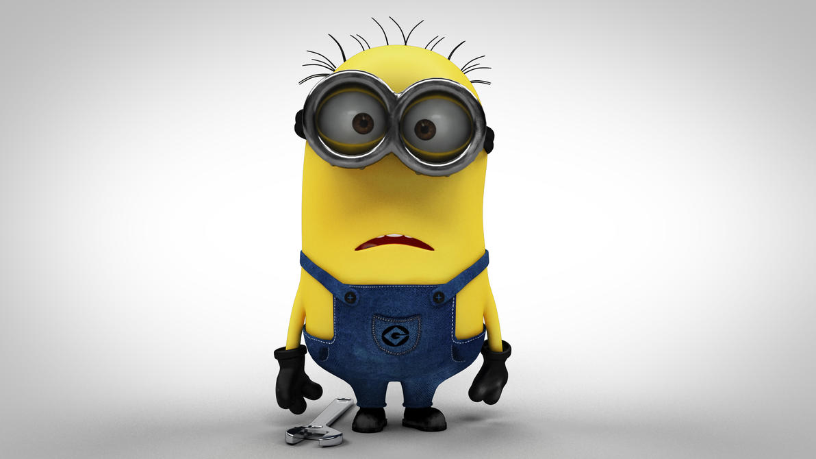 Despicable me minion by rofhiwa