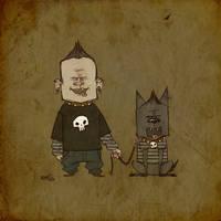 MansBestFriend_Bones by darrenrawlings