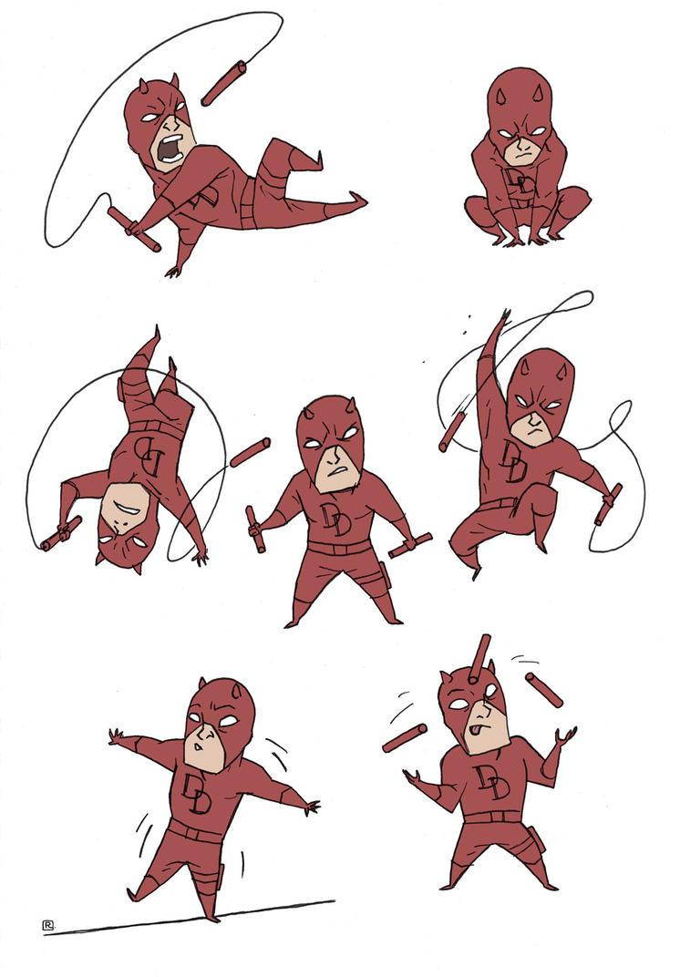 'Little' Dare Devil by darrenrawlings