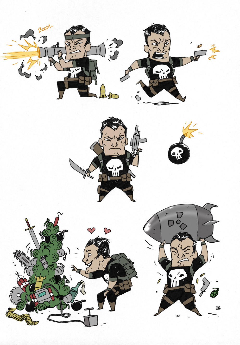 'Little' Punisher by darrenrawlings