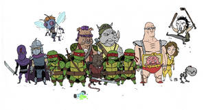 'Little' Ninja Turtles