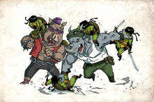 TMNT - 02 by darrenrawlings