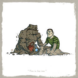 Little Friends - Clayface and Sandman