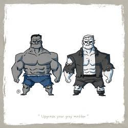 Little Friends - Hulk and Grundy