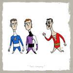 Little Friends-Mr.Fantastic and ElongatedMan and..
