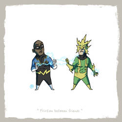 Little Friends - Black Lightning and Electro