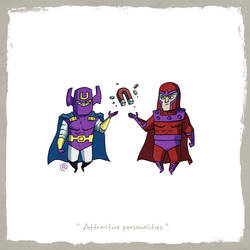Little Friends - Dr.Polaris and Magneto