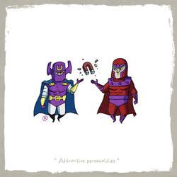 Little Friends - Dr.Polaris and Magneto