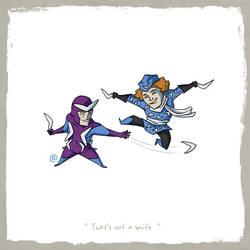 Little Friends - Boomerang and Captain Boomerang