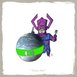 Little Friends - Galactus and Mogo