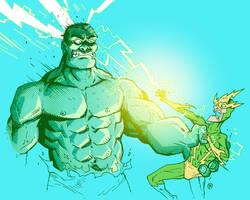 Hulk vs Electro