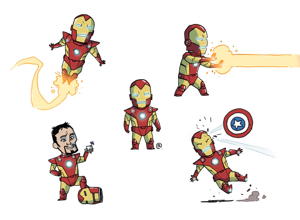 Little Ironman by darrenrawlings