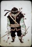 DailyDoodle Ninja Tortoise