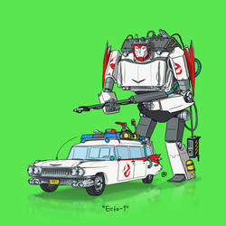 If They Could Transform - Ecto-1