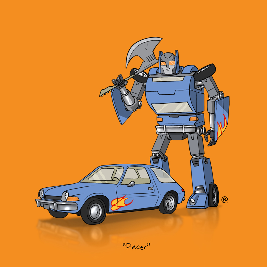If They Could Transform - Pacer by darrenrawlings
