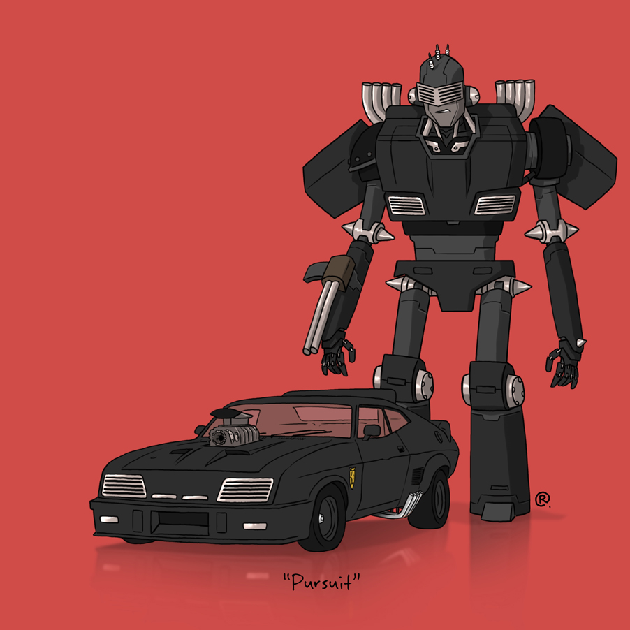 If They Could Transform - Mad Max by darrenrawlings