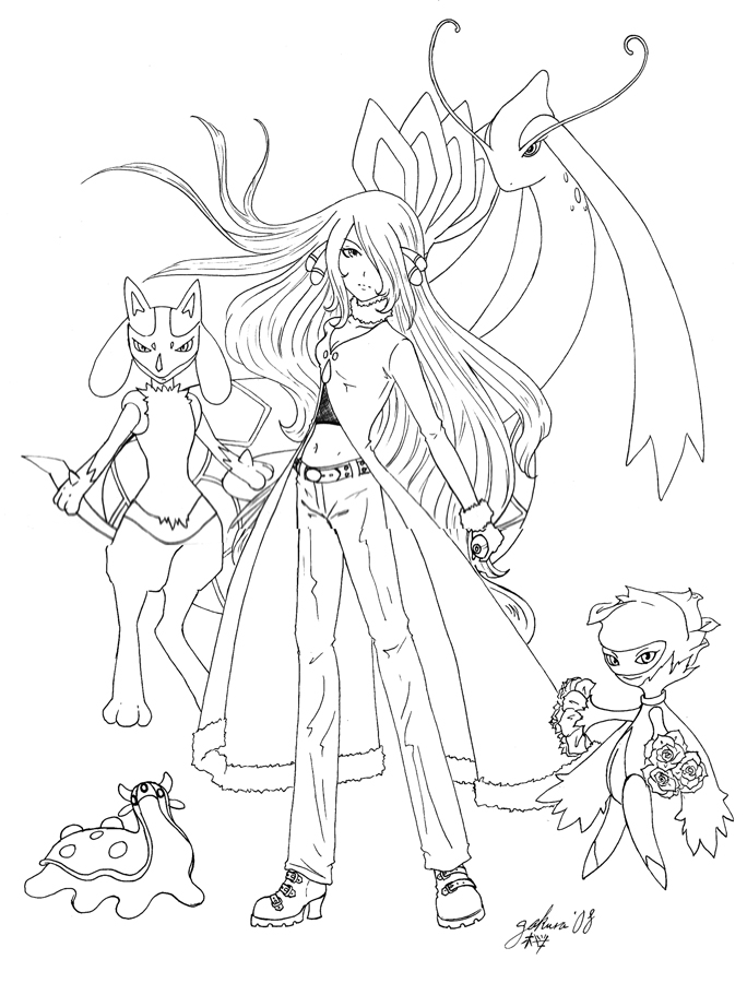 cynthia coloring pages - photo#10