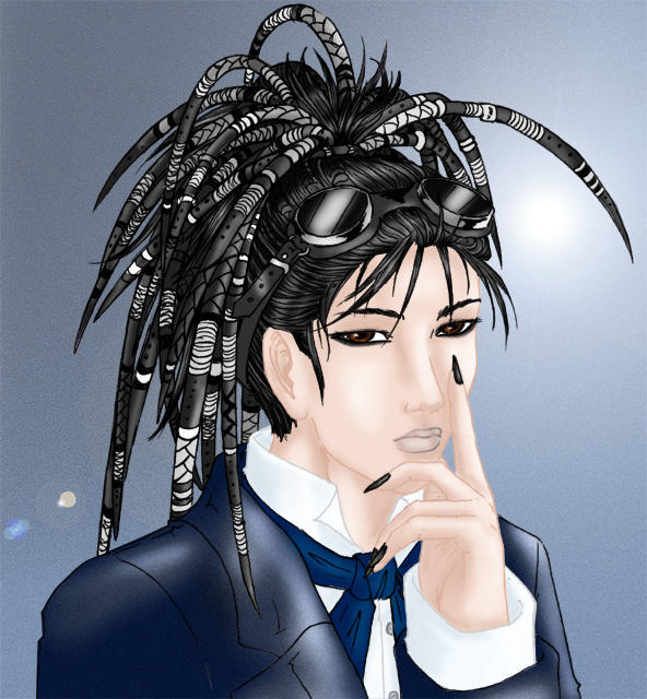 Pretty Goth Boy by Sakura-ShinRa