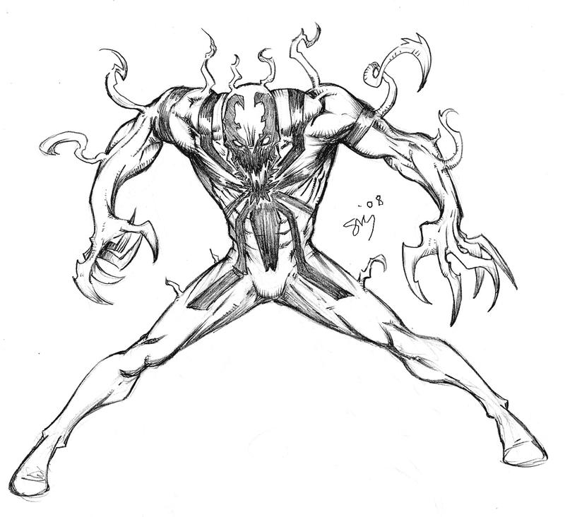 MY First AntiVenom by spacehater