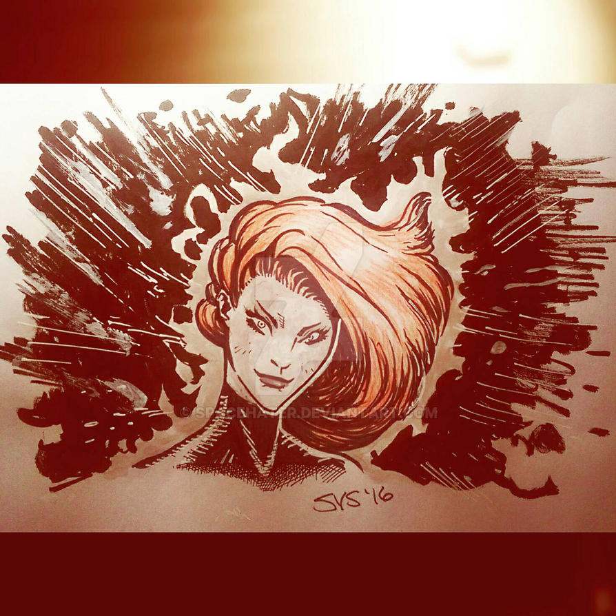 Jean Grey by spacehater