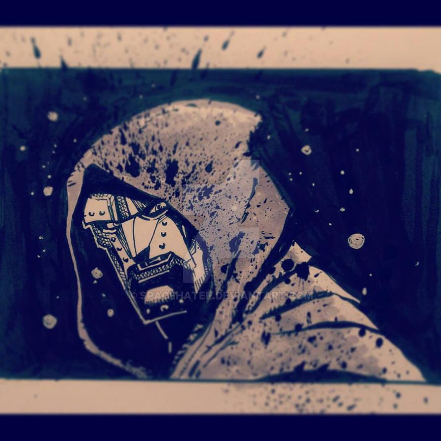 Doom Inktober HIDDEN  by spacehater