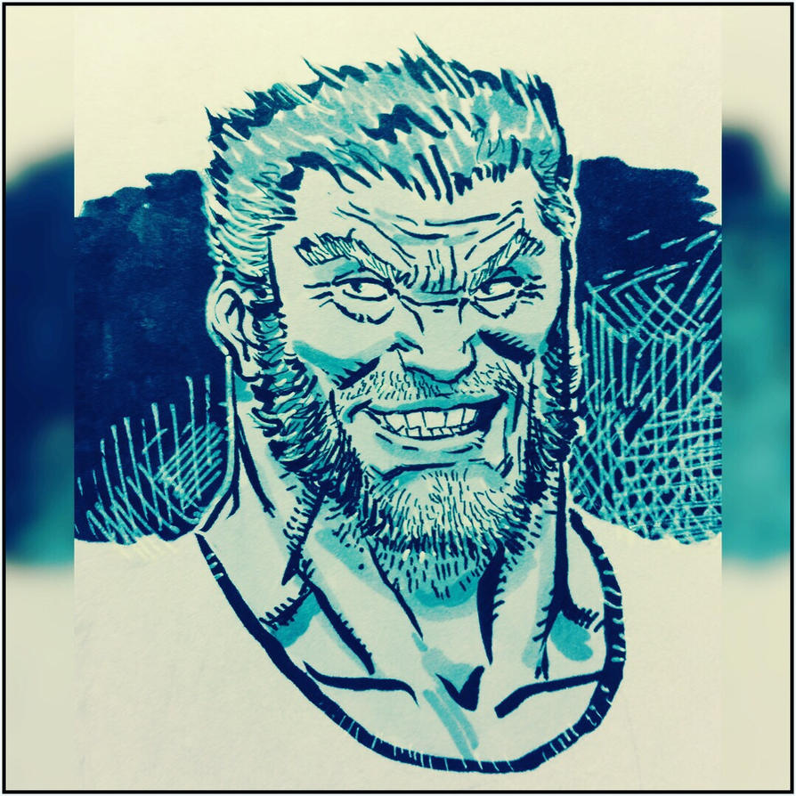 Old man logan by spacehater