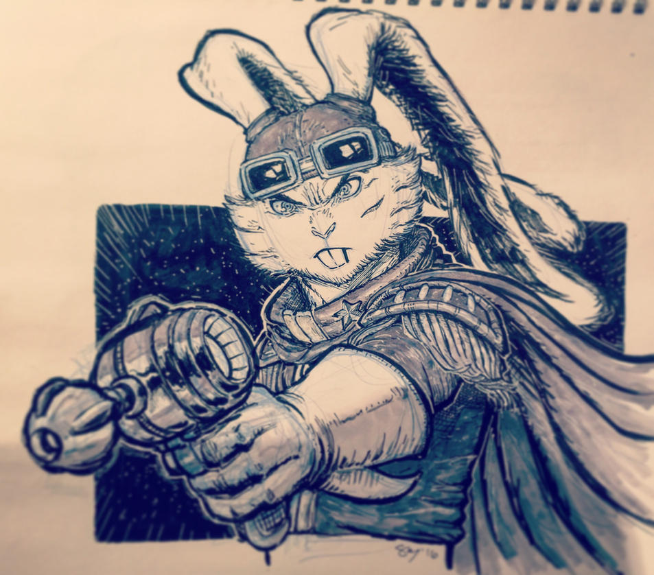 Bucky O Hare by spacehater