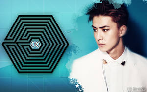 EXO K Sehun's Overdose Wallpaper by Rizzie23
