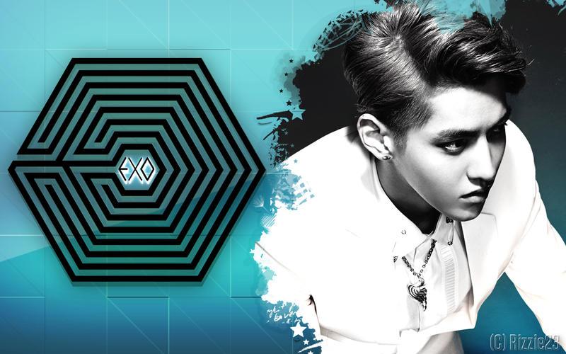 EXO M Kris' Overdose Wallpaper by Rizzie23