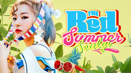 Seulgi Red Summer Wallpaper