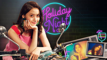 Yoona Holiday Night Wallpaper