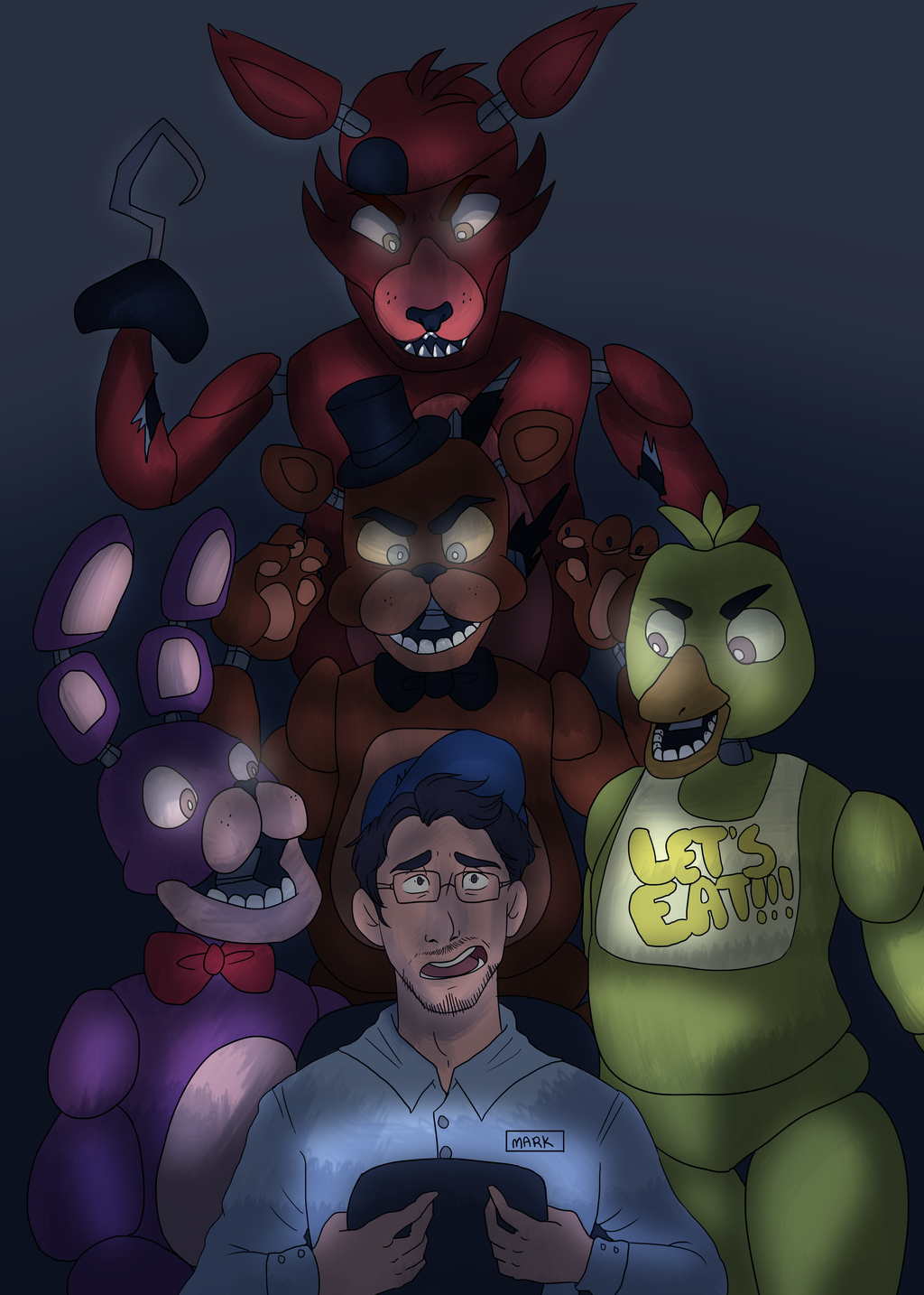The King Of Five Nights At Freddy S By Syntheticanimals On