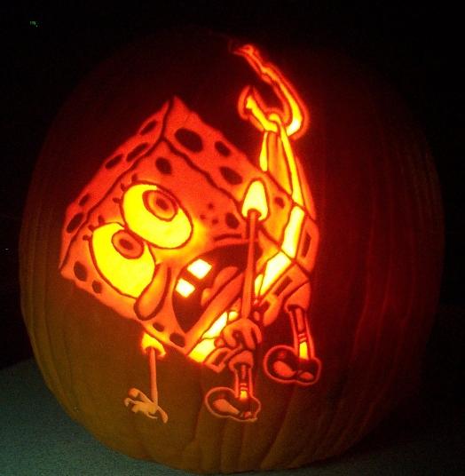 Sponge bob hooked by pumpkinsbylisa on deviantart