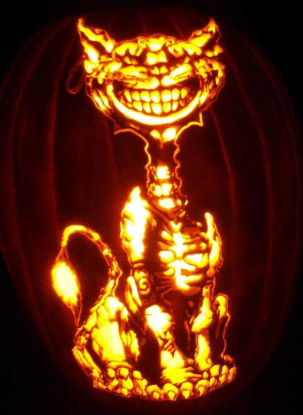 Cheshire cat by pumpkinsbylisa on deviantart