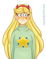 Star Butterfly (color practice) by loopusOMG