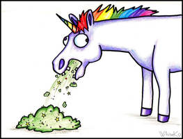 Unicorn Barf by WhiteK9